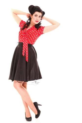 Click an image to shop online for Mens Rockabilly Clothing and Womens Rockabilly Dresses by Lucky Thirteen (Lucky 13